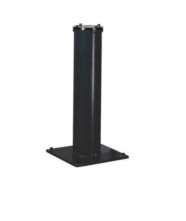Usada para montar a máquina no chão por meio de 4 apoios metálicos.