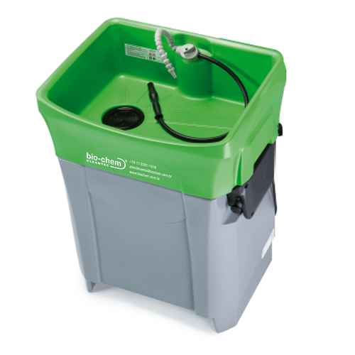 Bio-Chem EVO Compact é a melhor alternativa de sistema de limpeza manual de peças