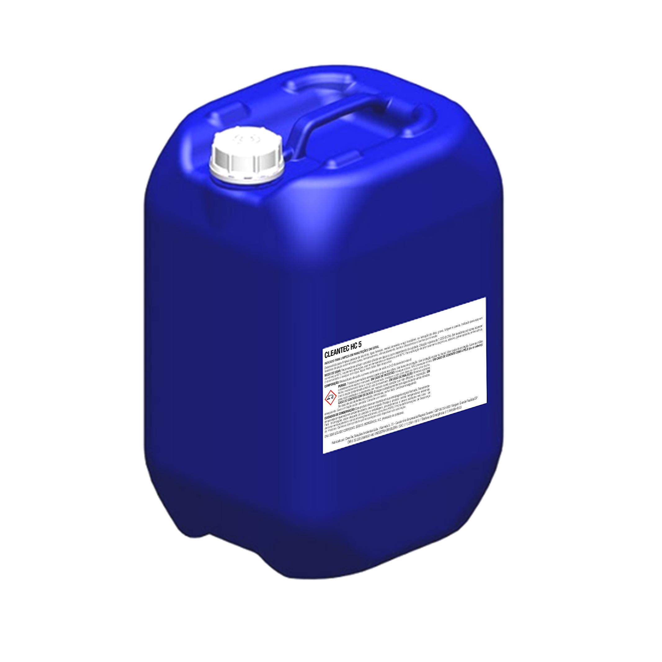 especialmente desenvolvido para remoção de graxas e óleos.