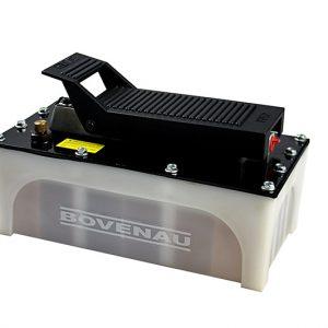 Bomba Hidráulica Hidropneumática 700 bar c/ Mangueira/Manômetro/Adaptador