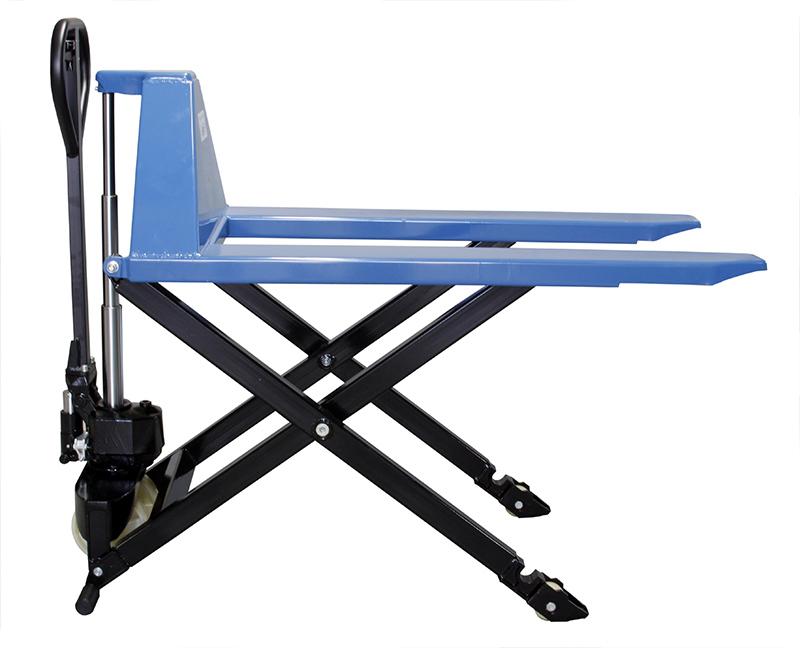 Transpalete Hidráulico Manual Capacidade até 1 ton Rodado Simples em Nylon