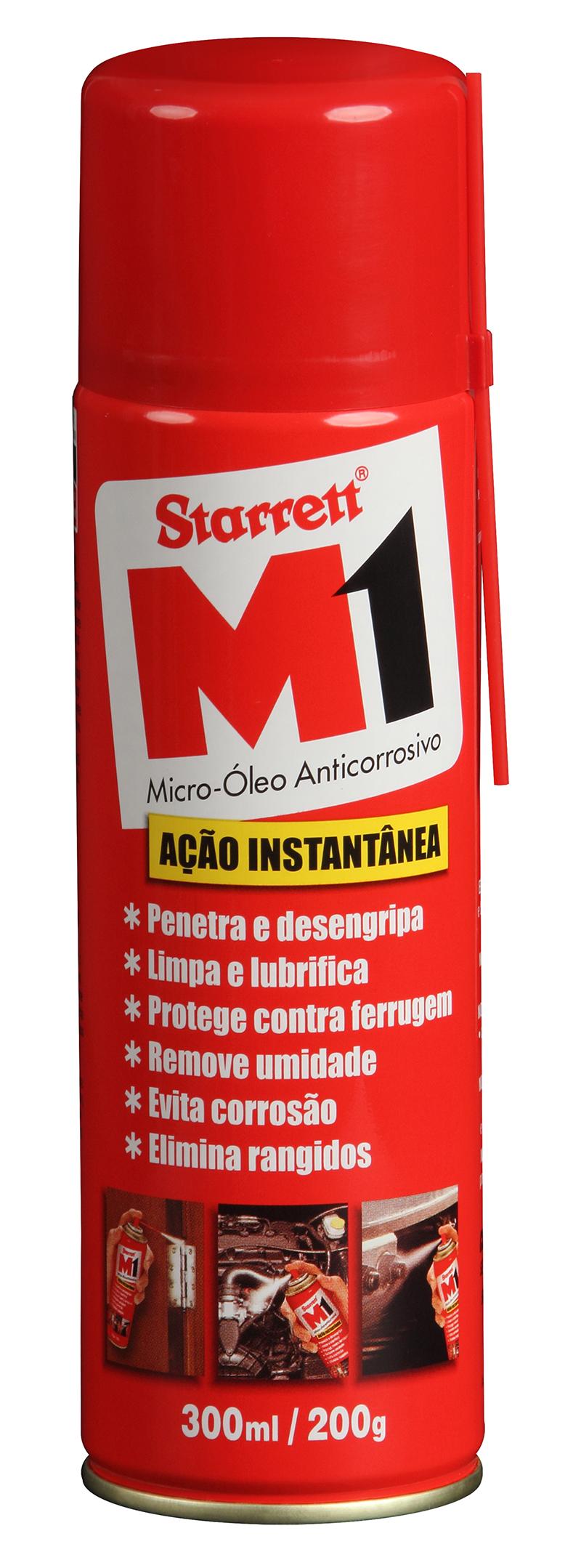 A Starrett é líder em instrumentos de medição de alta precisão. Nós usamos M1 em nossas áreas de fabricação. Ele funciona